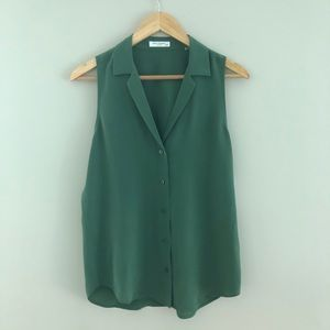 NWT Equipment Adalyn Silk Blouse Size XS